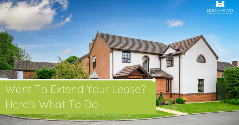 How To Extend Your Lease